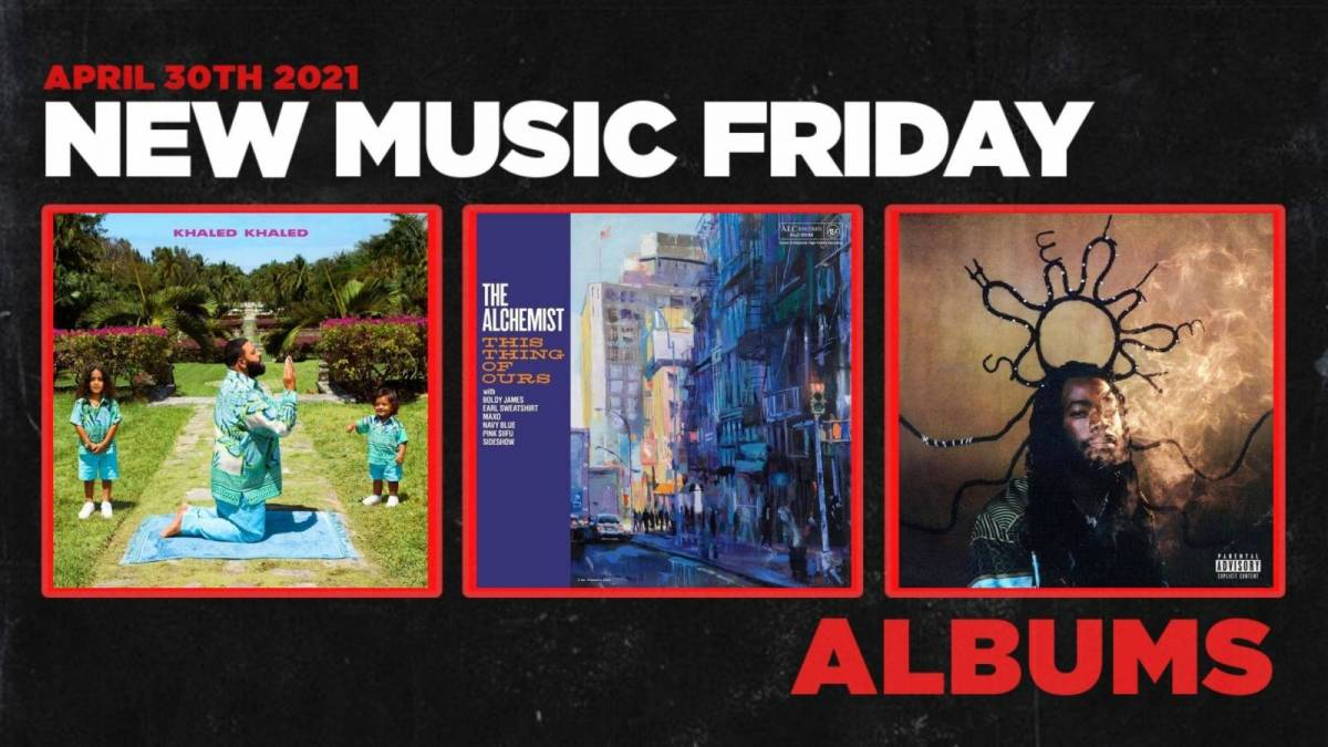 New Music Friday  New Albums From DJ Khaled, Lil Eazzyy + More