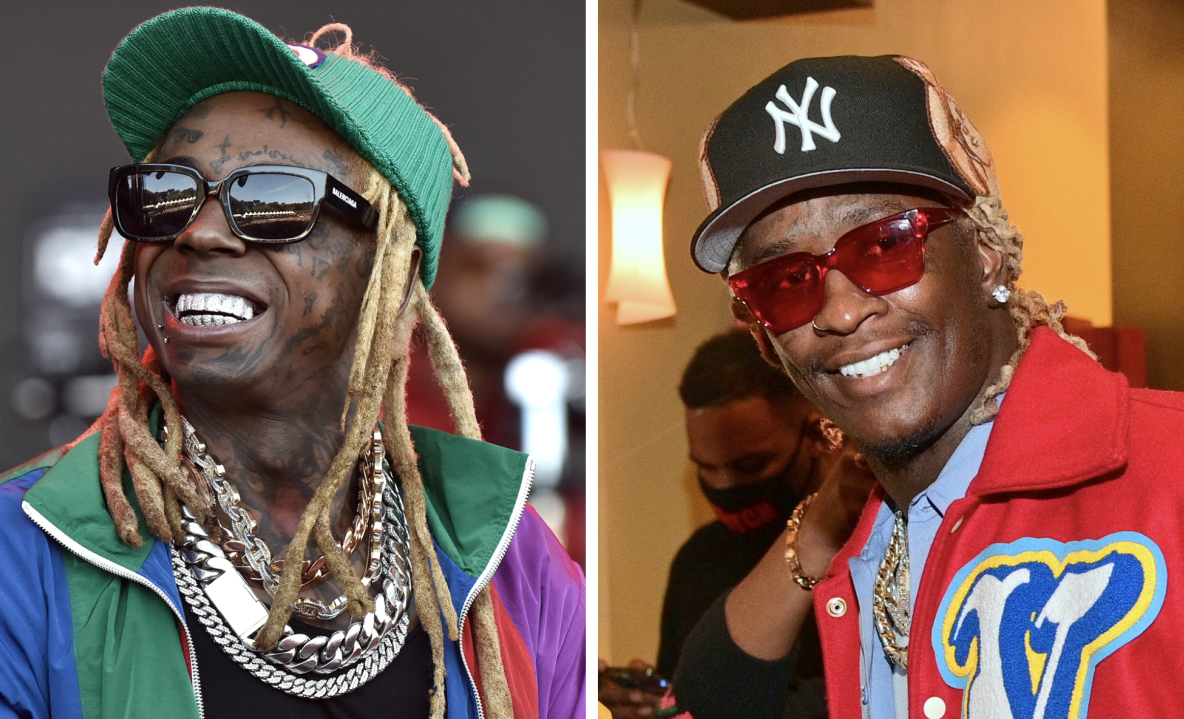 Lil Wayne & Young Thug Spotted In Studio Together