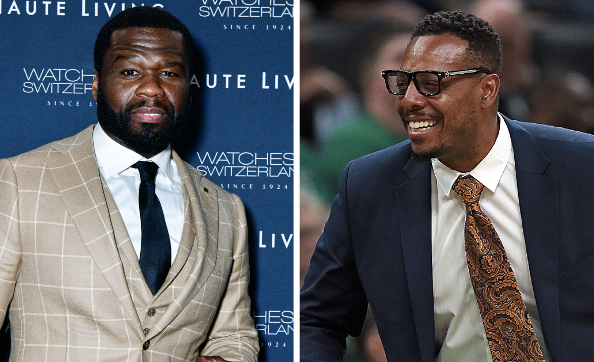 50 Cent Takes Joy In Paul Pierce's Instagram Live That Led To ESPN Firing