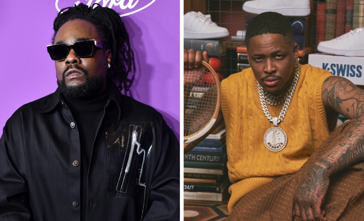 Wale & YG Get Foot Locker Collaborations