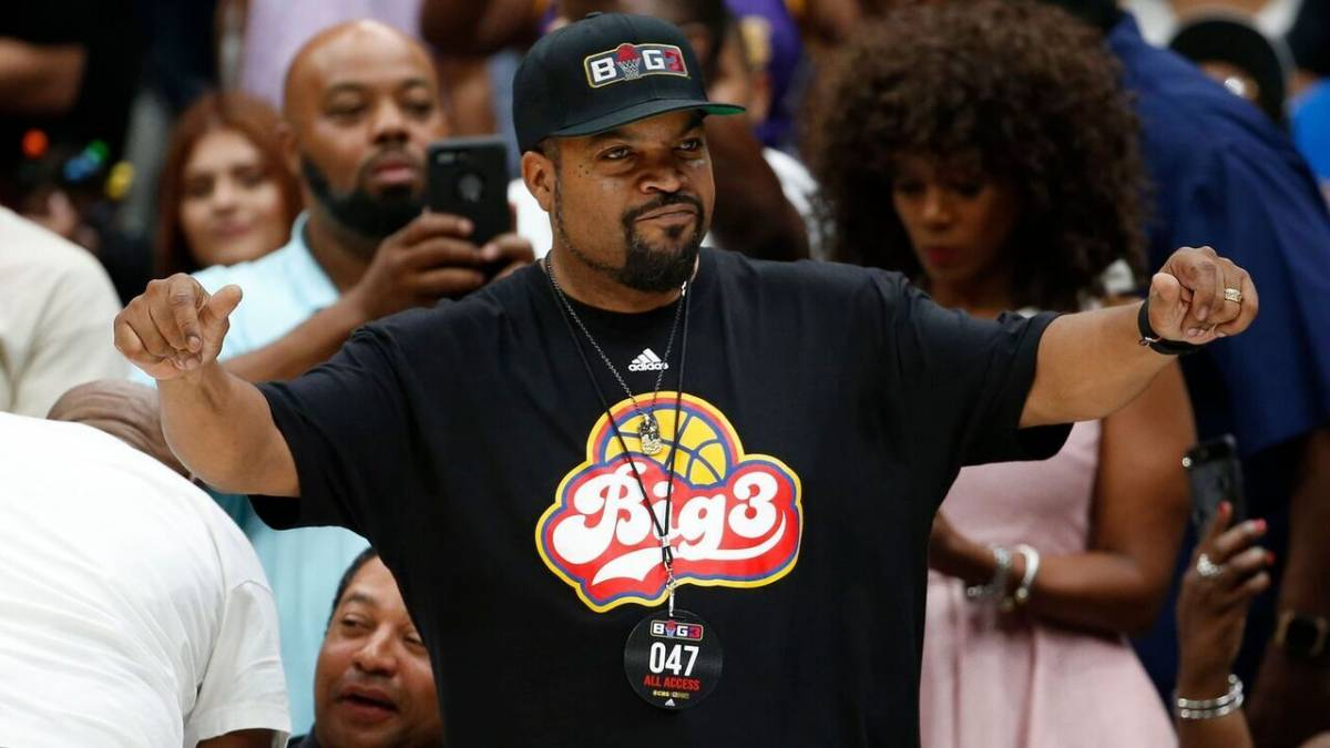 Ice Cube Says BIG3 League Is The Hardest Thing He's Ever Done