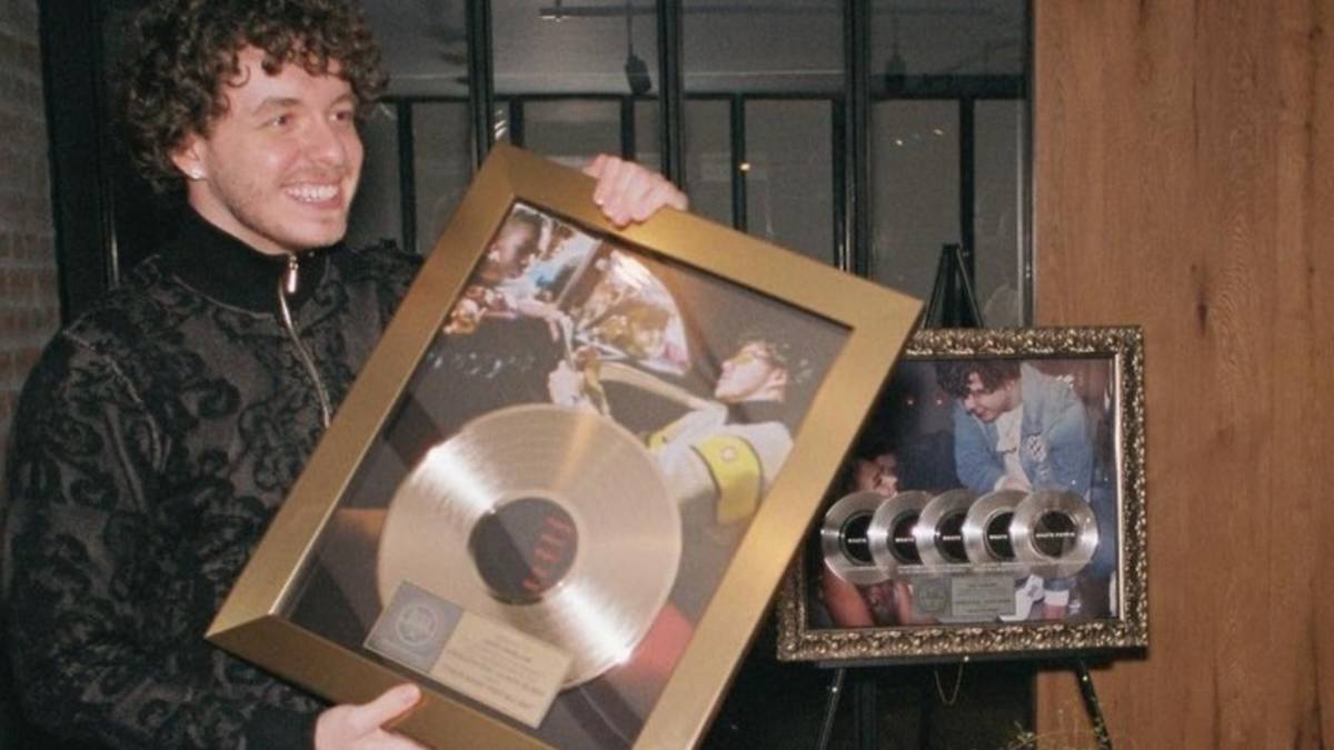 Jack Harlow Facetimes Tyler Herro To Show Off Their Gold Record