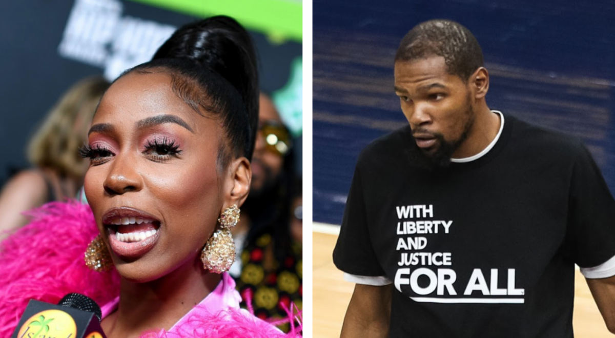 Kash Doll Says She Trolled Kevin Durant In The Presence Of 50 Cent
