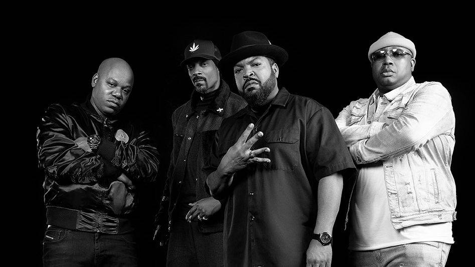Mount Westmore's Snoop Dogg, Ice Cube, E-40 & Too $hort Debut 1st Single At Triller's Jake Paul Vs. Ben Askren Fight