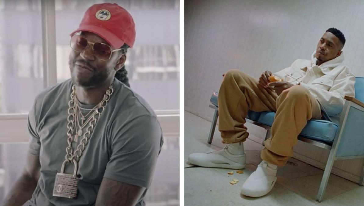 2 Chainz Gives Nas Props For 'Easy' Calvin Klein Check