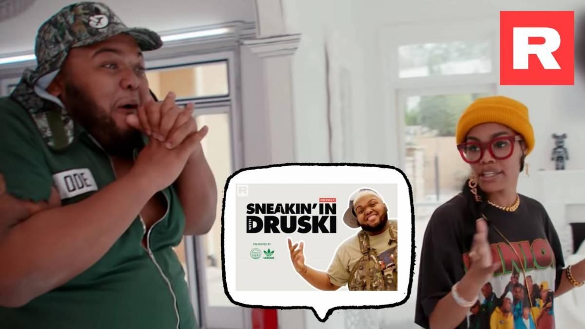 Snoop Dogg, Teyana Taylor, Yung Miami Star In adidas & REVOLT TV's 'Sneakin' In w/ Druski'