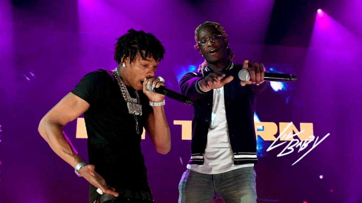 Young Thug Roasts Lil Baby's Short-Shorts Exposing Kneecaps