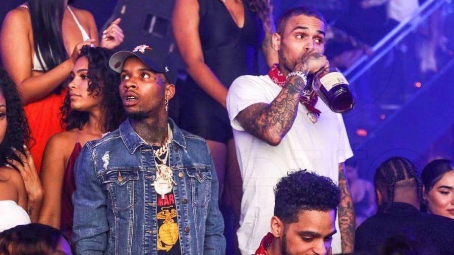 Chris Brown & Tory Lanez Joint LP Draw Domestic Violence Jokes