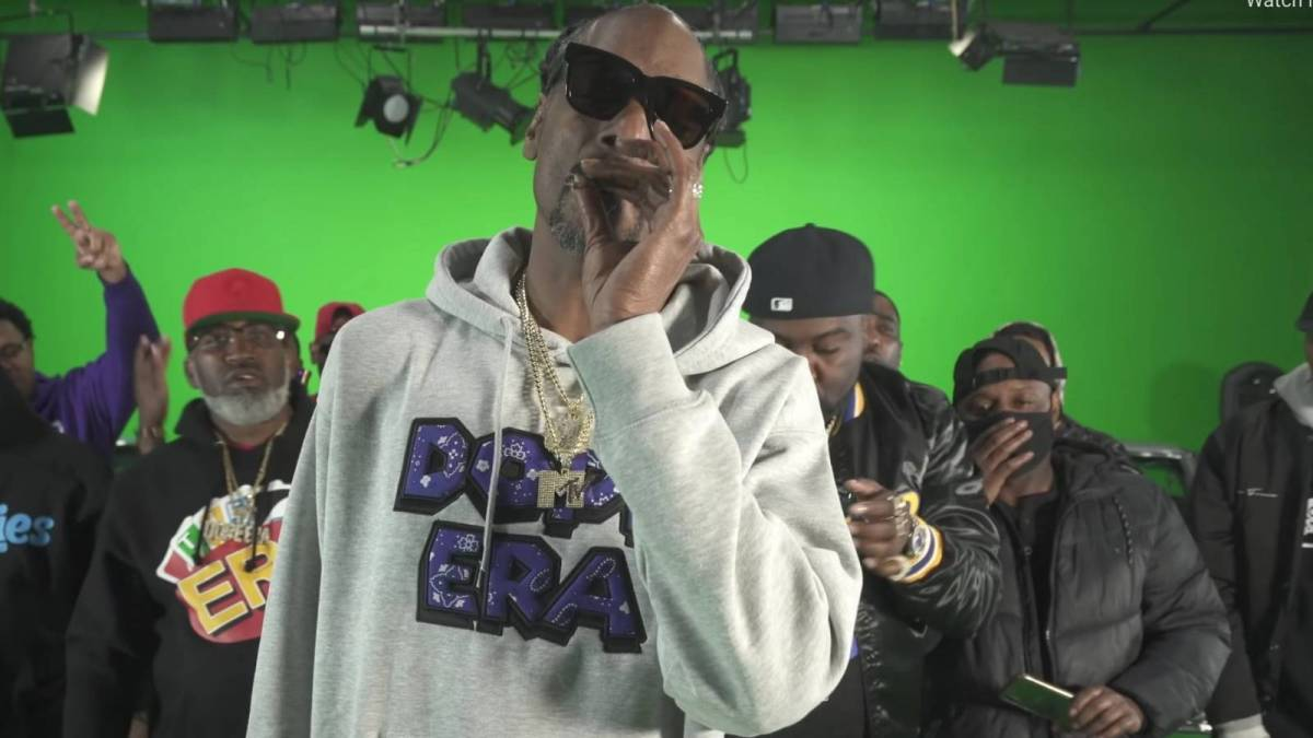 Snoop Dogg Passes The Blunt To Madonna In 'Gang Signs' Video