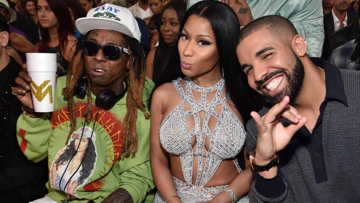 Nicki Minaj, Drake & Lil Wayne Reunite For 'Seeing Green'