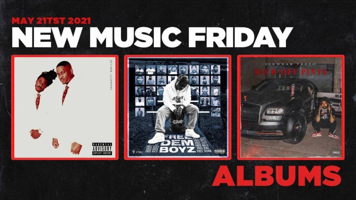 New Music Friday - New Albums From 42 Dugg, YG + Mozzy, Icewear Vezzo + More
