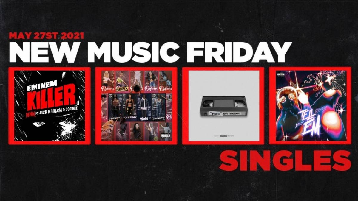 New Music Friday - New Singles From Eminem, Earthgang, Cochise + $NOT, Blxst + More