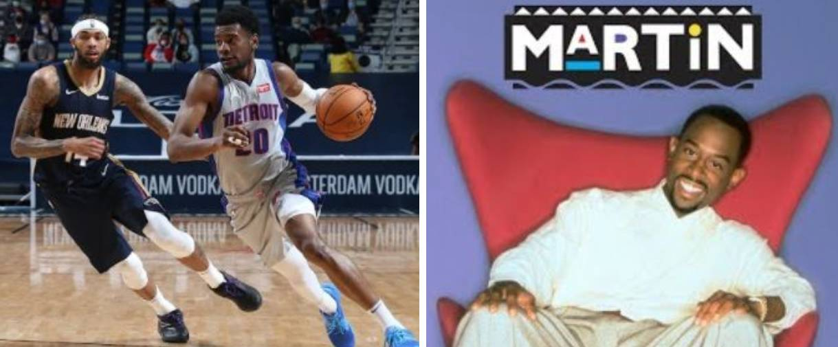 Detroit Pistons Honor 'Martin' TV Show With NBA Merch Collaboration
