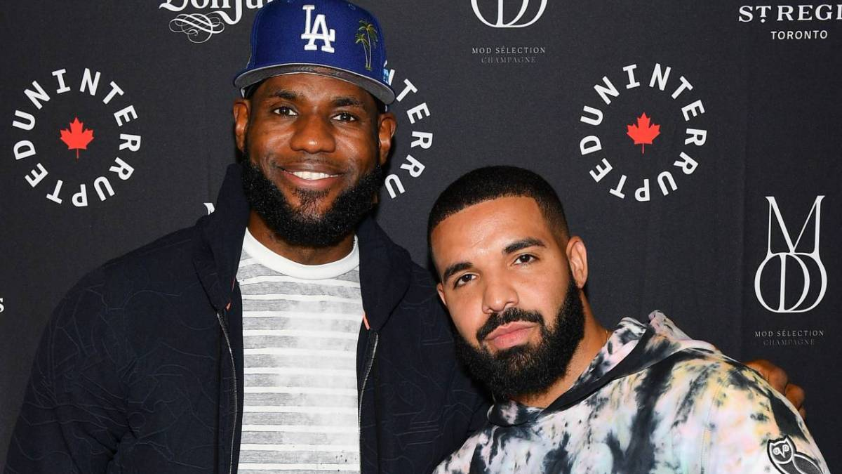 Drake & Son Adonis Watch LeBron James Highlights In Awe