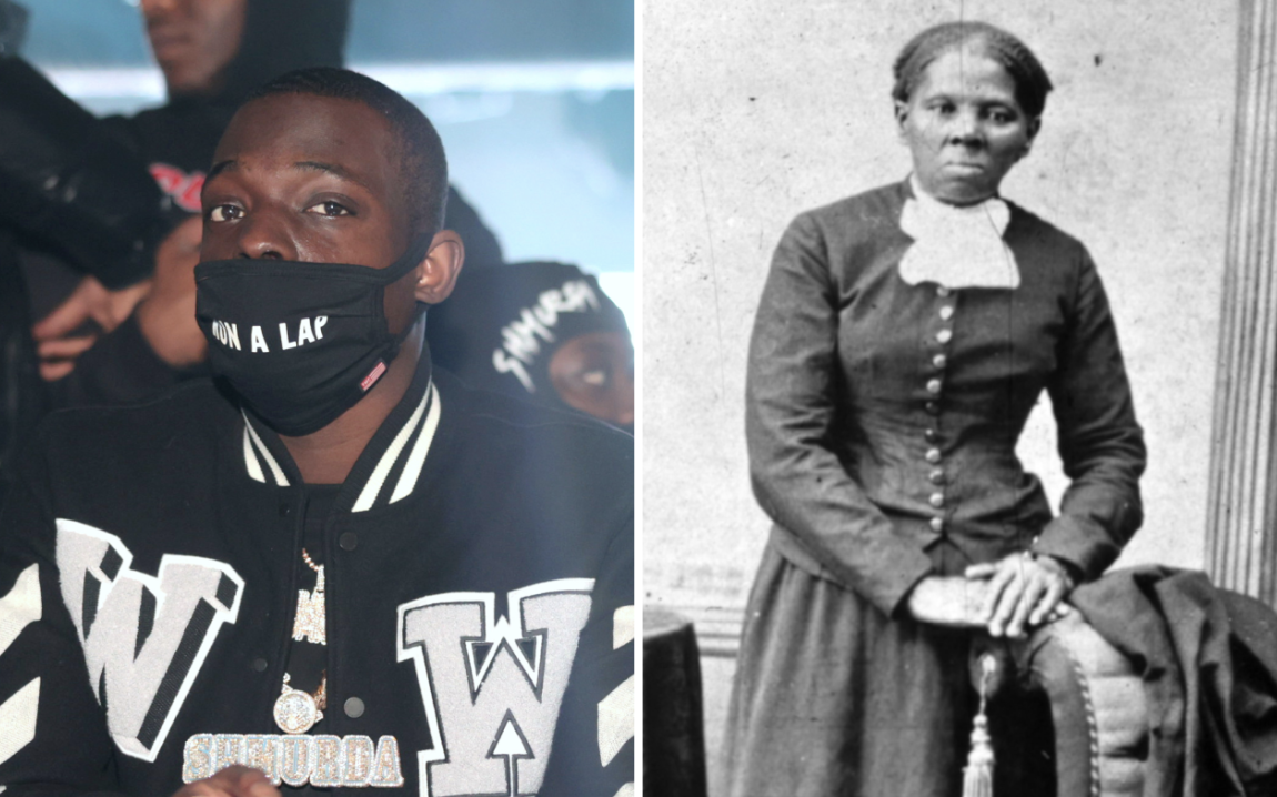 Bobby Shmurda Gets Inked With Harriet Tubman Portrait Tattoo