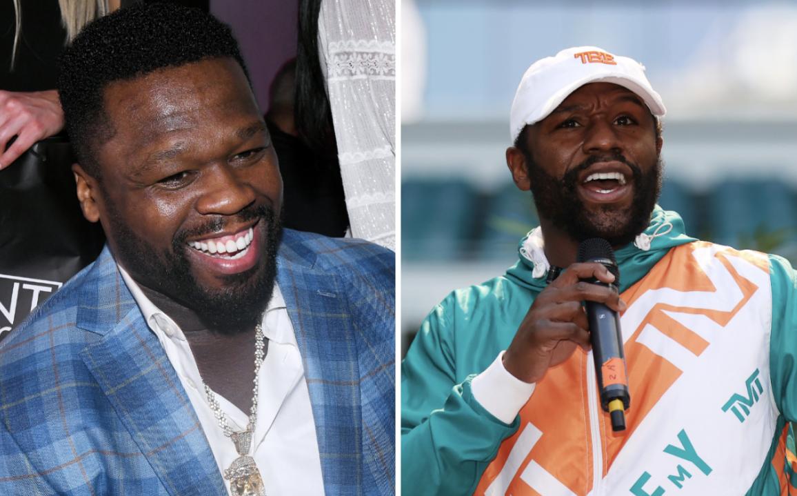 50 Cent Mocks Floyd Mayweather After Jake Paul Altercation