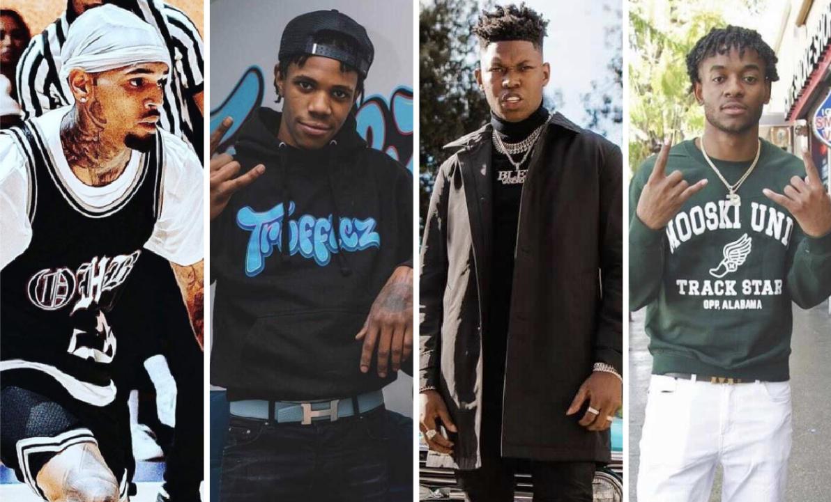 Chris Brown, A Boogie Wit Da Hoodie & Yung Bleu Assist Mooski On 'Track Star' Remix