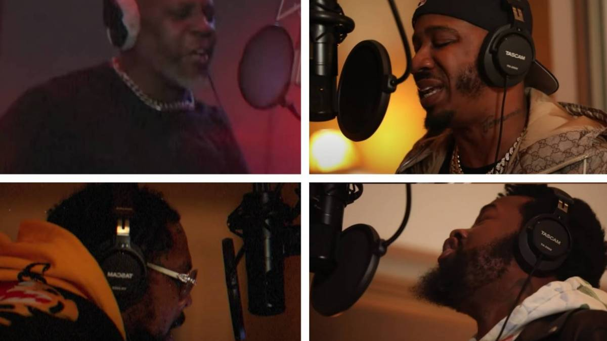 DMX + Benny The Butcher, Conway The Machine & Westside Gunn Bar-Out In 'Hood Blues' Video