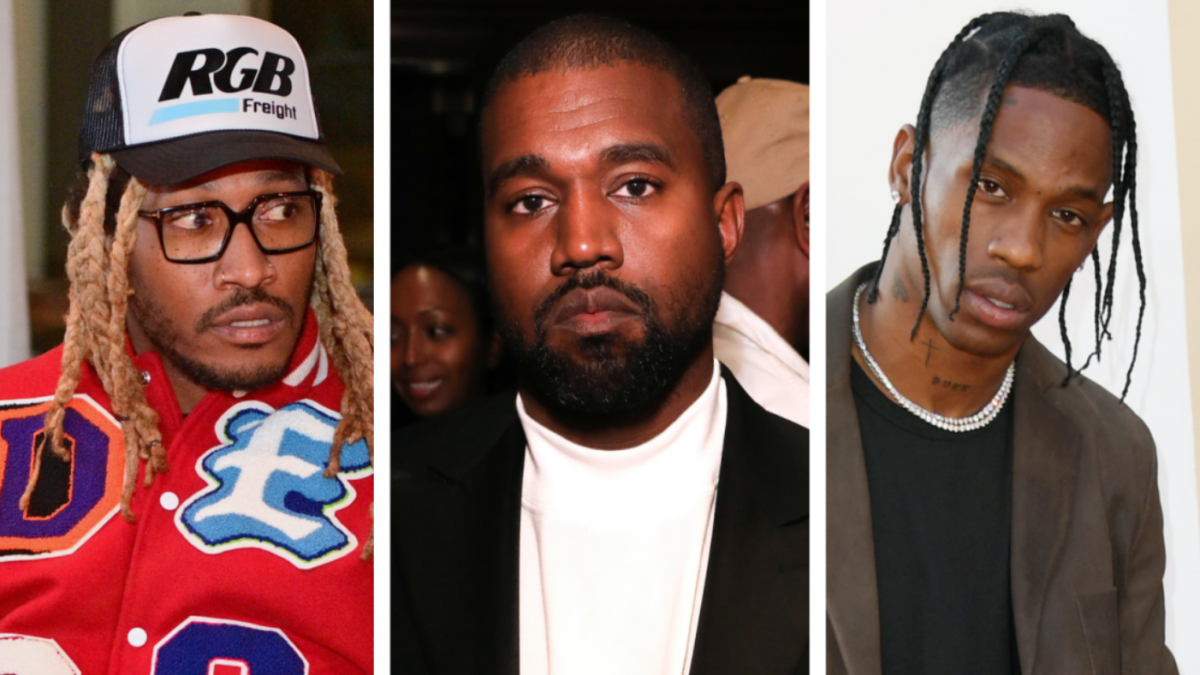 Future Posts Up With Kanye West & Travis Scott - Then Deletes The Evidence