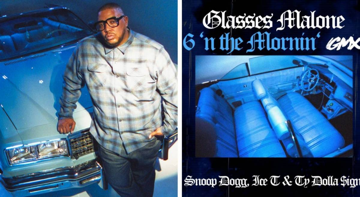 Glasses Malone Drops 6 In The Mornin (GMX)' With Ice-T, Snoop Dogg + Ty Dolla $ign