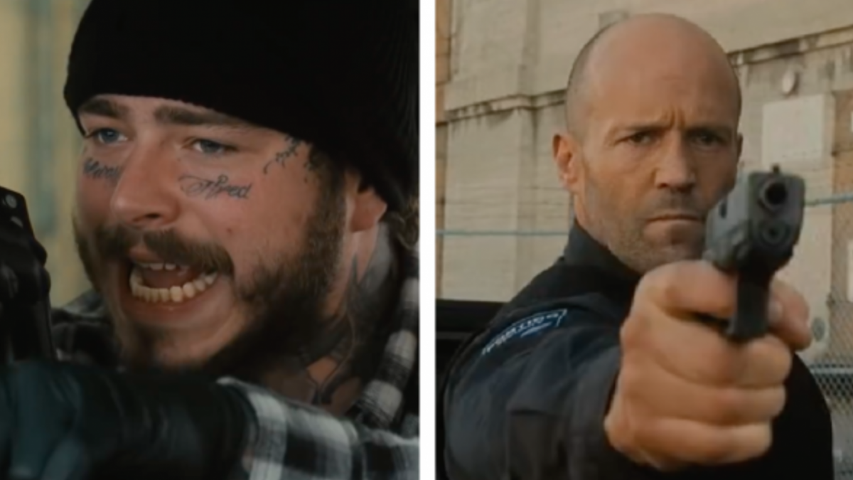 Post Malone Gets Props From Jason Statham But Won't Rap With Him