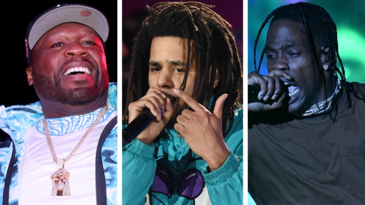 50 Cent, J. Cole + Travis Scott To Headline Rolling Loud New York 2021