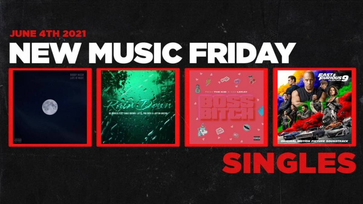 New Music Friday - New Singles From Roddy Ricch, Ty Dolla $ign, Rich The Kid + More