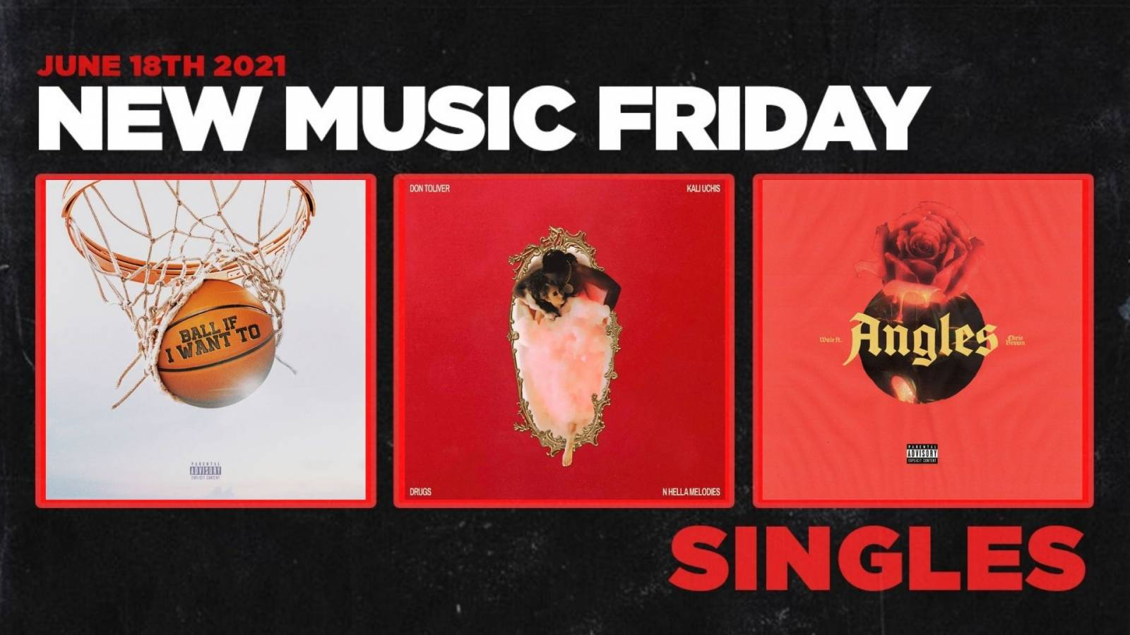 New Music Friday – New Singles From DaBaby, Don Toliver & Kali Uchis, Skepta, Wale & Chris Brown + More