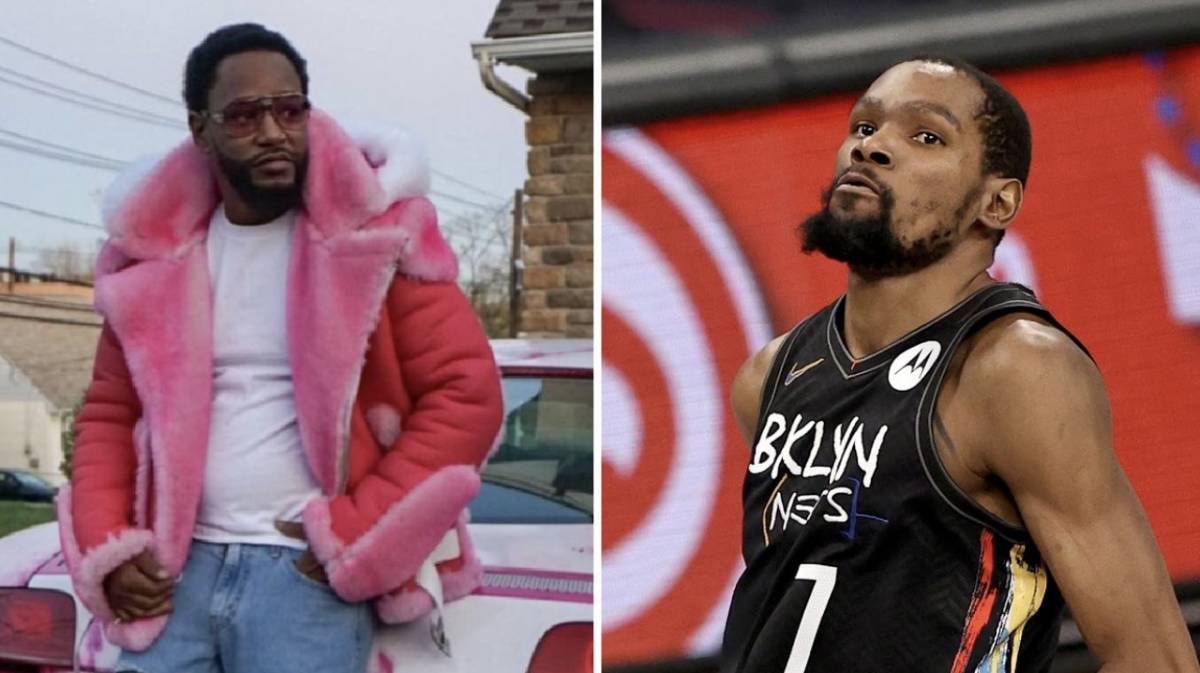 Cam'ron Cops Kevin Durant Iced Out Chain For Carrying NYC In NBA Playoffs