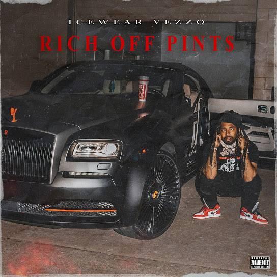 Icewear Vezzo Blends Michigan Rap & Lean Culture + Elevates His Status On 'Rich Off Pints'