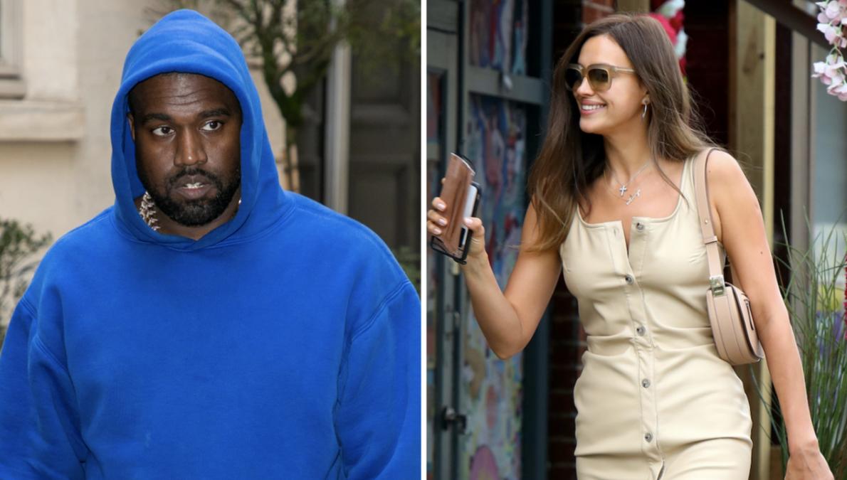 Kanye West Returns Stateside With Irina Shayk