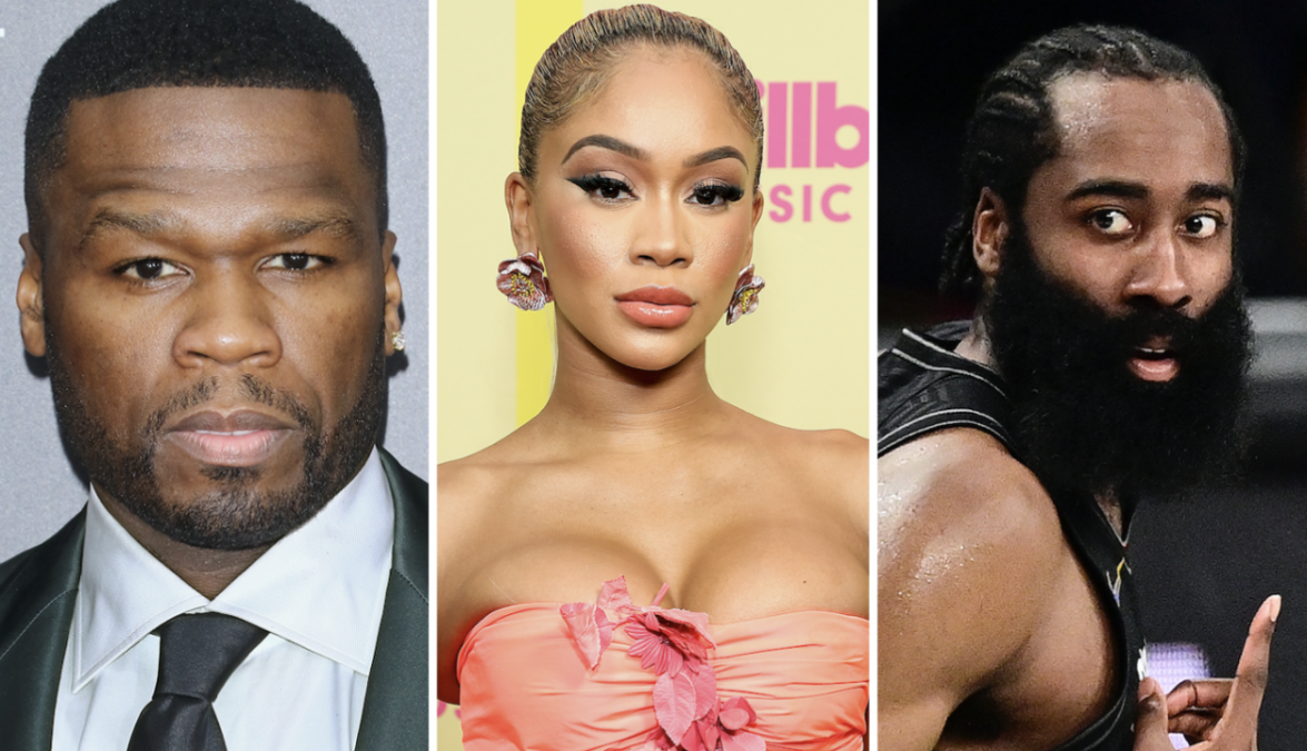 50 Cent Disses Saweetie After James Harden Dating Rumors