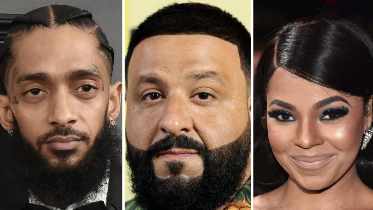Nipsey Hussle, DJ Khaled & Ashanti To Receive Hollywood Walk Of Fame Stars