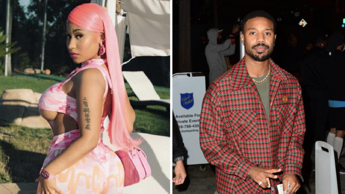 Nicki Minaj Urges Michael B. Jordan To Rename His Rum Brand & He's Already Apologizing