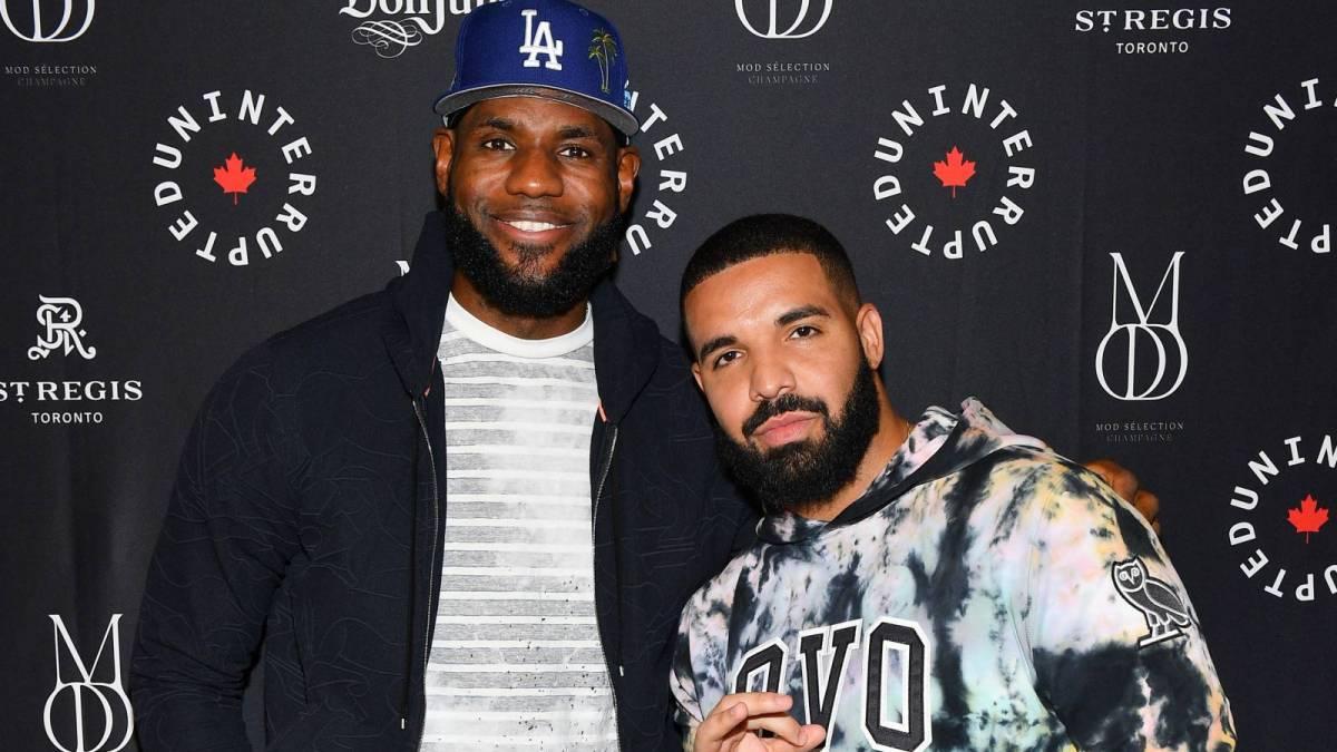 Drake & LeBron James Get Amped Watching Bronny James