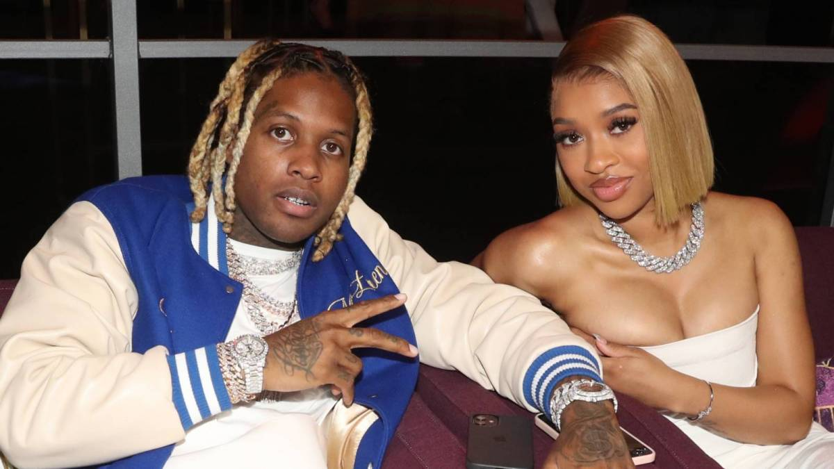 Lil Durk Quotes Yung Bleu While Saluting Girlfriend India Cox