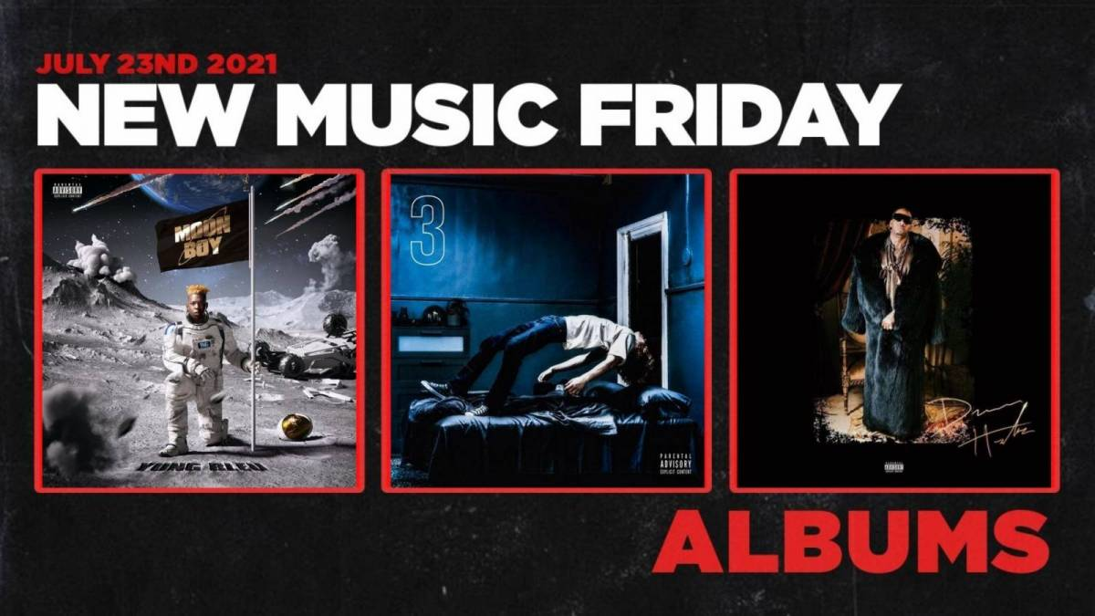 New Music Friday - New Albums From Yung Bleu, The Kid Laroi, Lil Duke, Dave + More