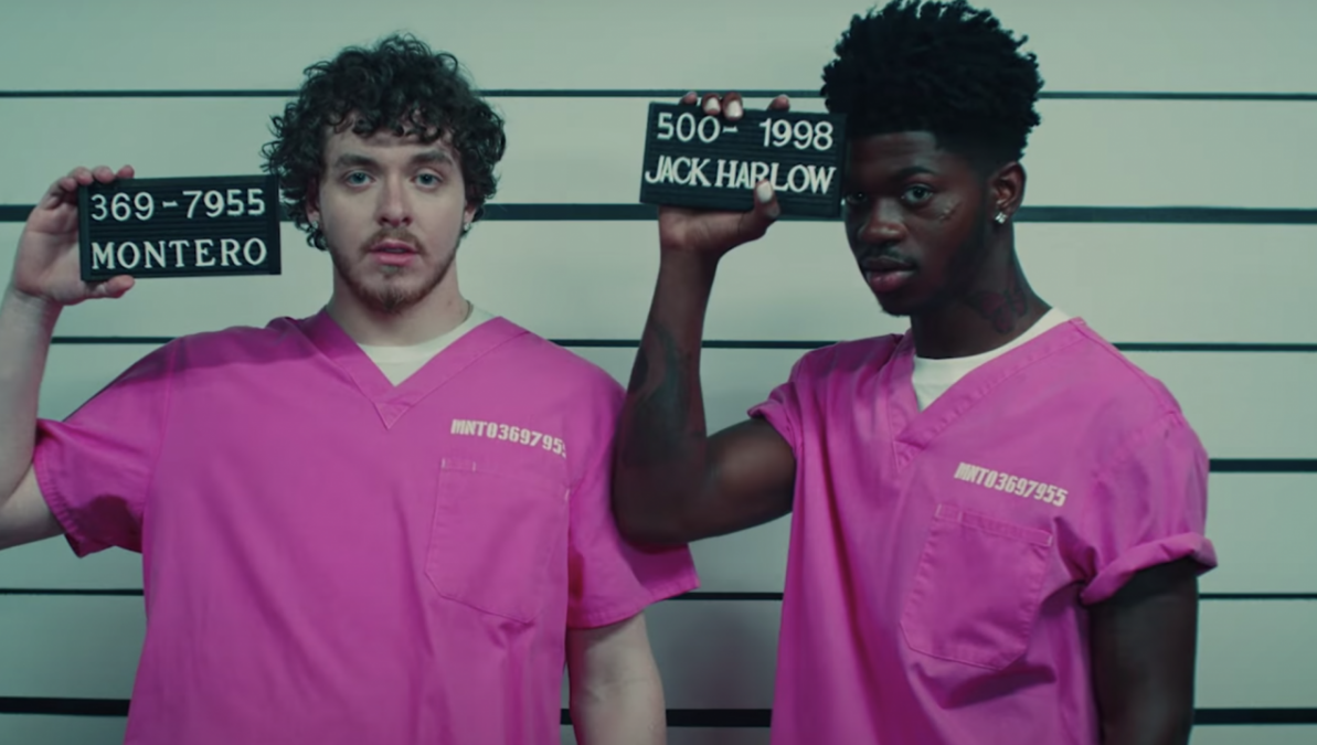 Jack Harlow Was Fully Prepared To Get Butt Naked For Lil Nas X's 'Industry Baby' Video