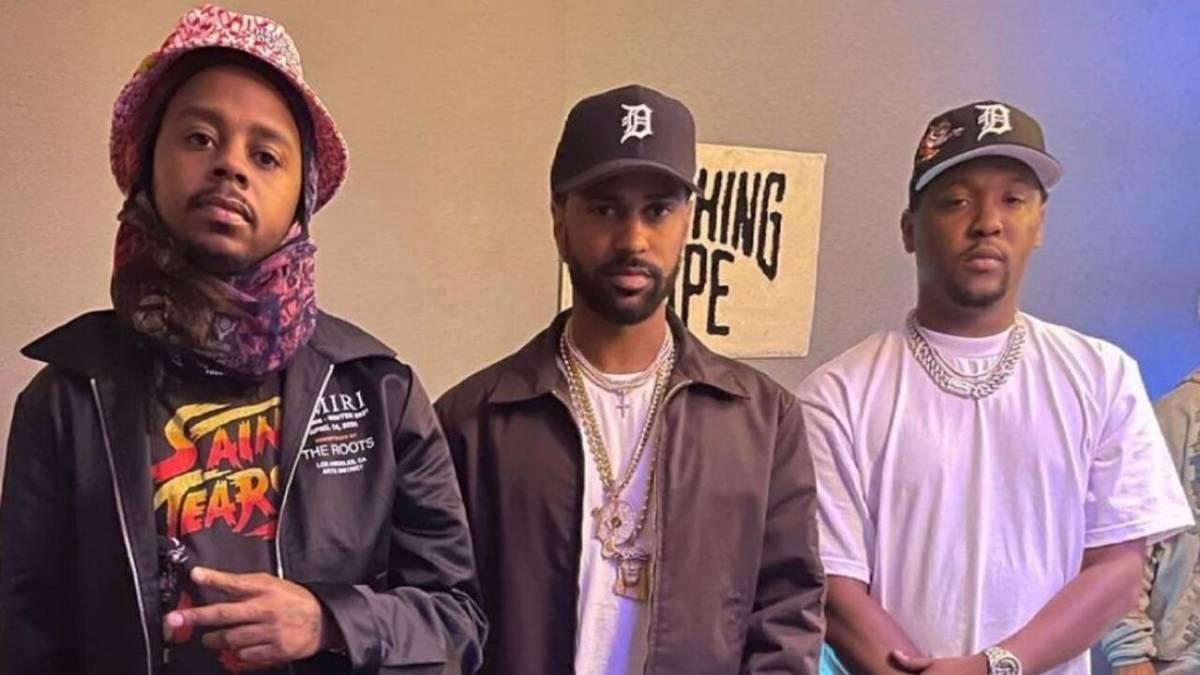 Big Sean Links With Hit-Boy + Babyface Ray Following Studio Run-In