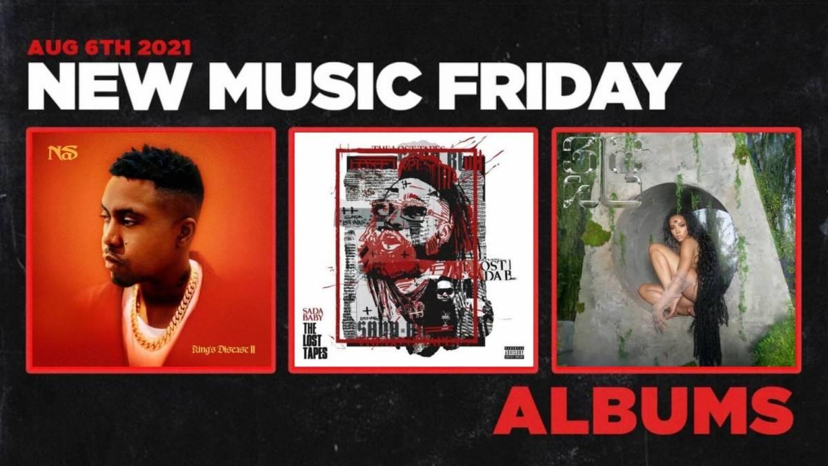 New Music Friday - New Albums From Nas, Sada Baby, Tinashe + More