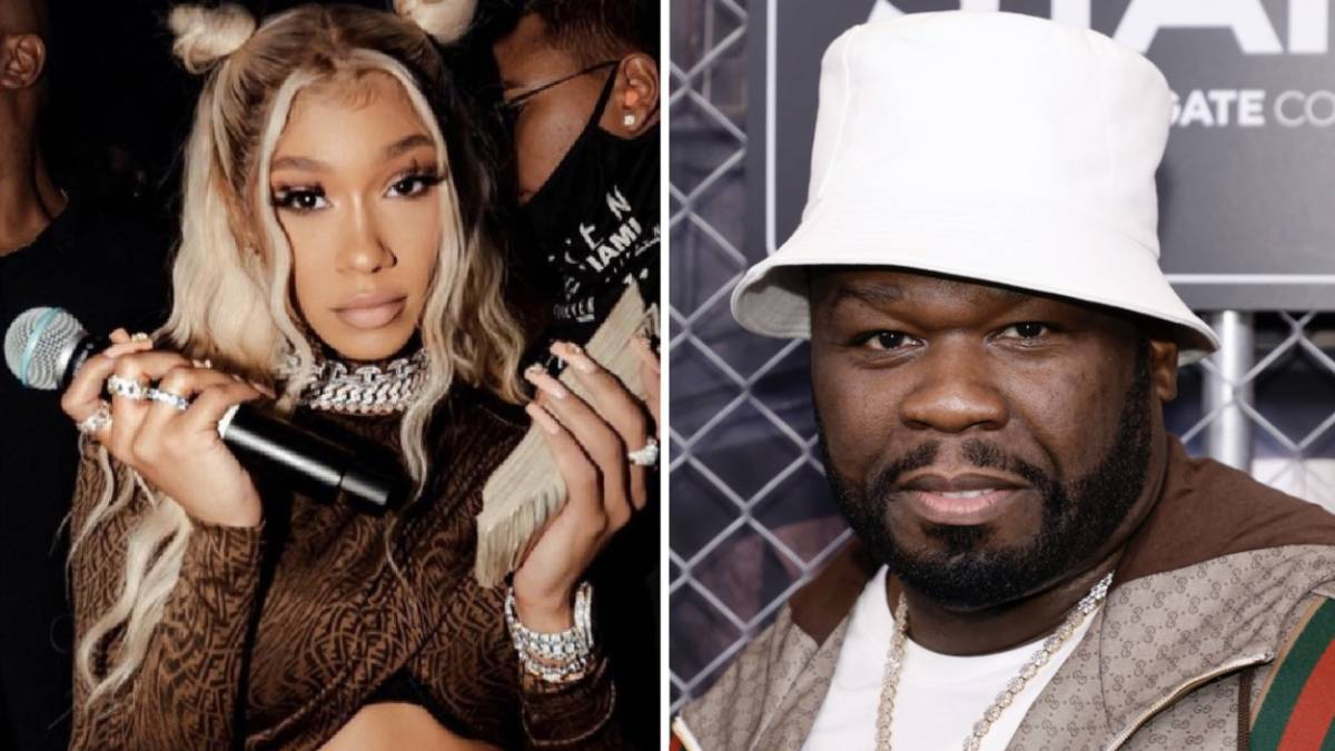 50 Cent Shows BIA Support At Miami Nightclub Performance