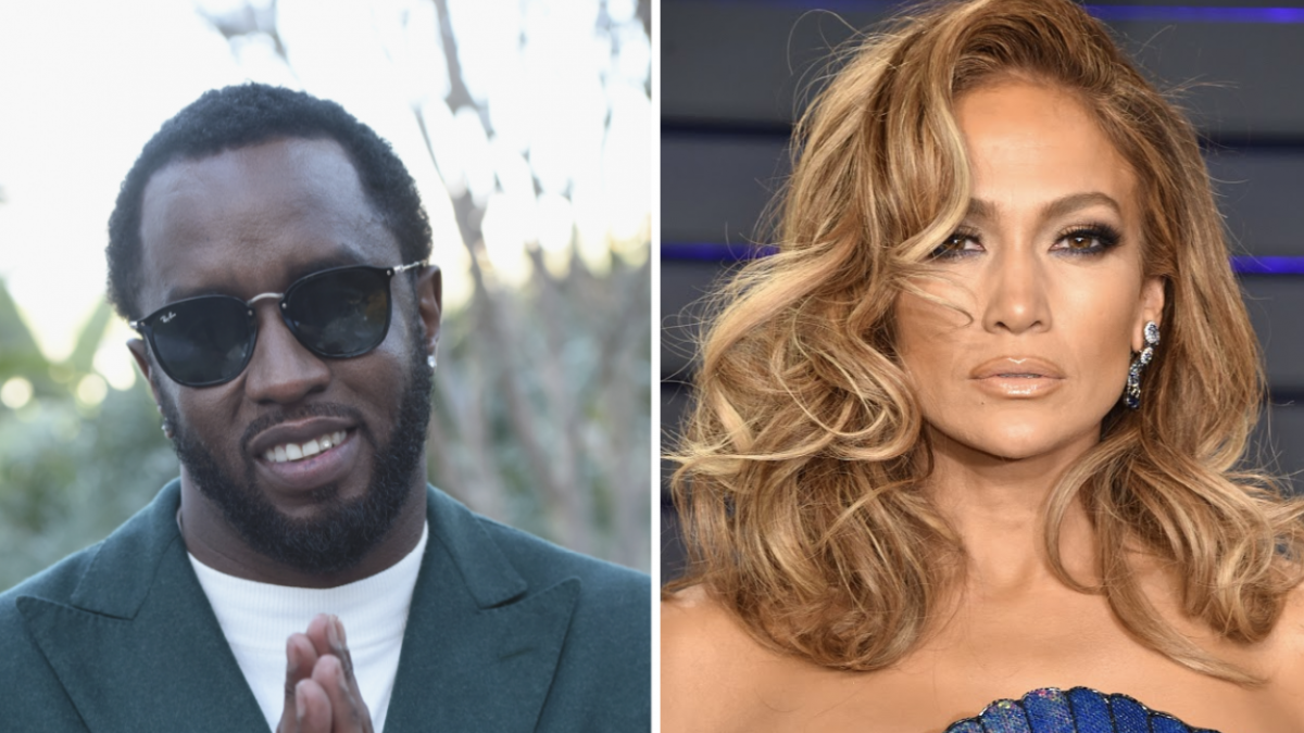 Diddy Says He Wasn't Trolling When Posting Jennifer Lopez Throwback Photo