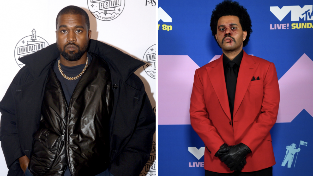 Kanye West Shows Off Weeknd-Filled iPhone Log - But Who's Roark Bailey?