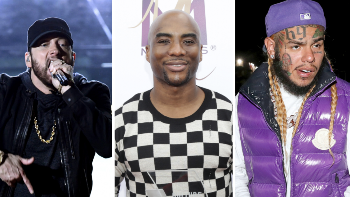 Charlamagne Tha God Lists Off Rappers Who Would Shred Eminem In Verzuz - Including 6ix9ine