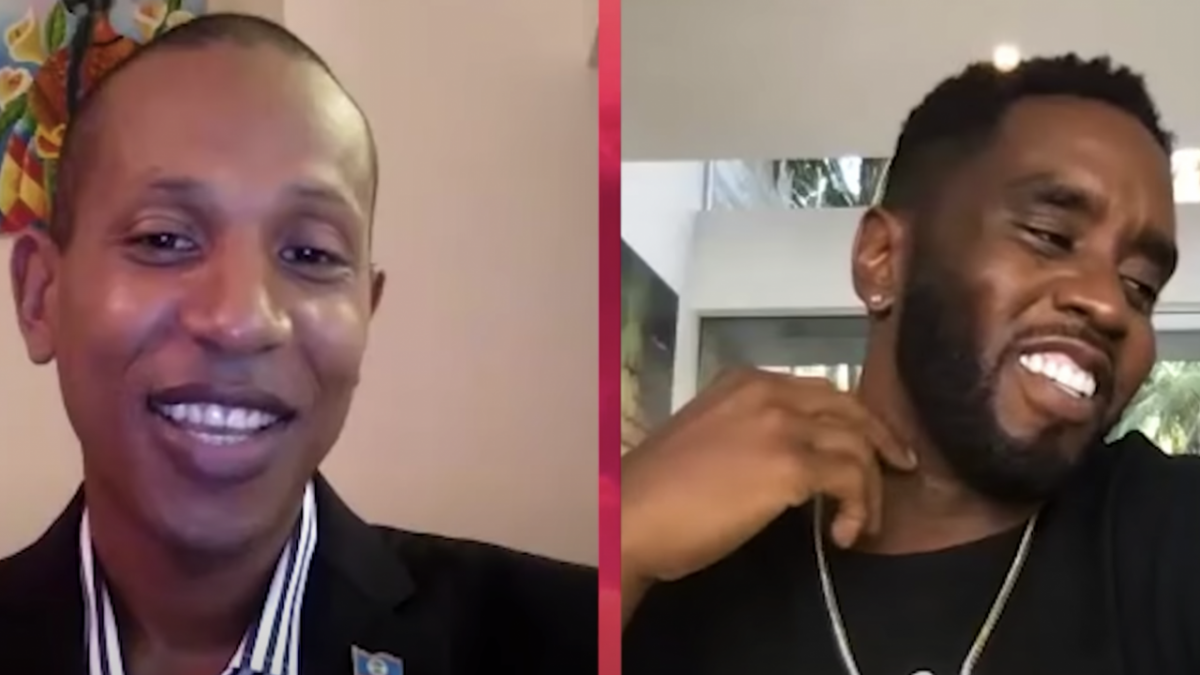 Diddy Helps Shyne Secure U.S. Visa To Meet With Senators & Improve Belize Relations