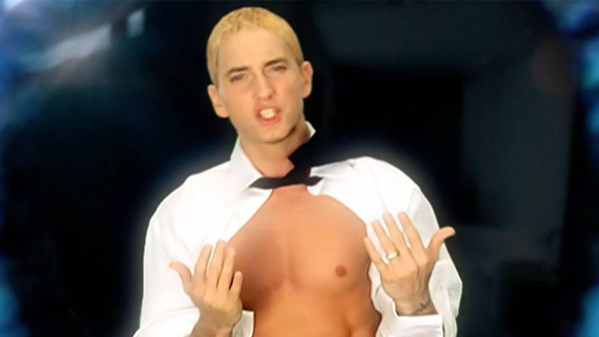 Eminem Recalls Bleach Blonde Slim Shady 'Knocking On Death's Door' In New GRIP Verse