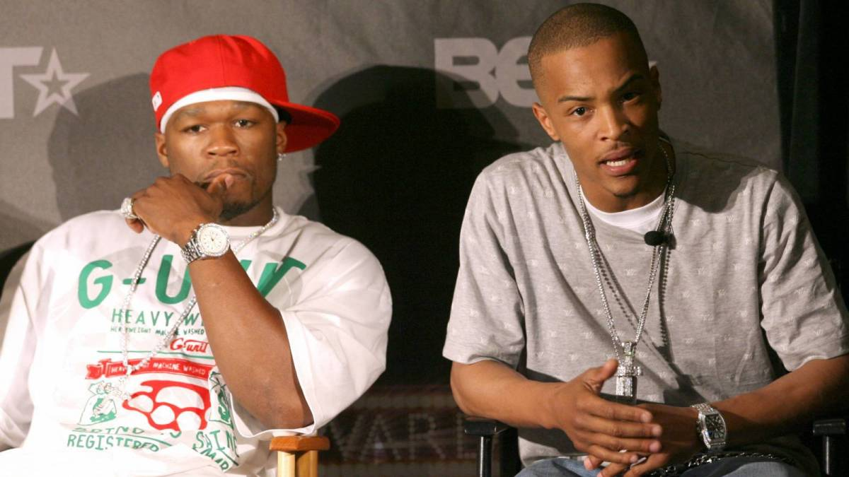 T.I. Challenges 50 Cent To Verzuz Battle During Star-Studded 'Black Mafia Family' Premiere