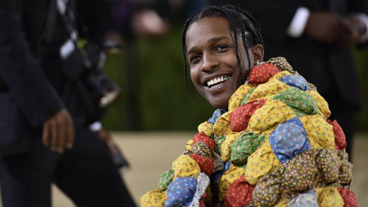 A$AP Rocky's Met Gala Outfit Was Originally An Old Lady's Bed Quilt