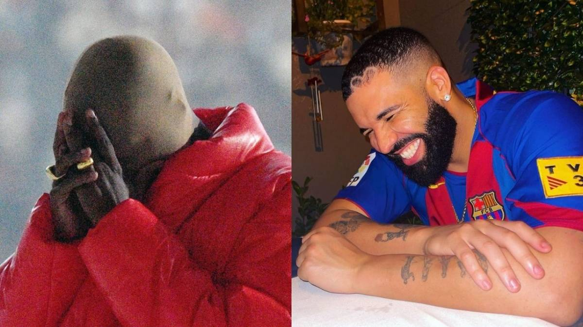 Drake Unfollows Kanye West On Instagram