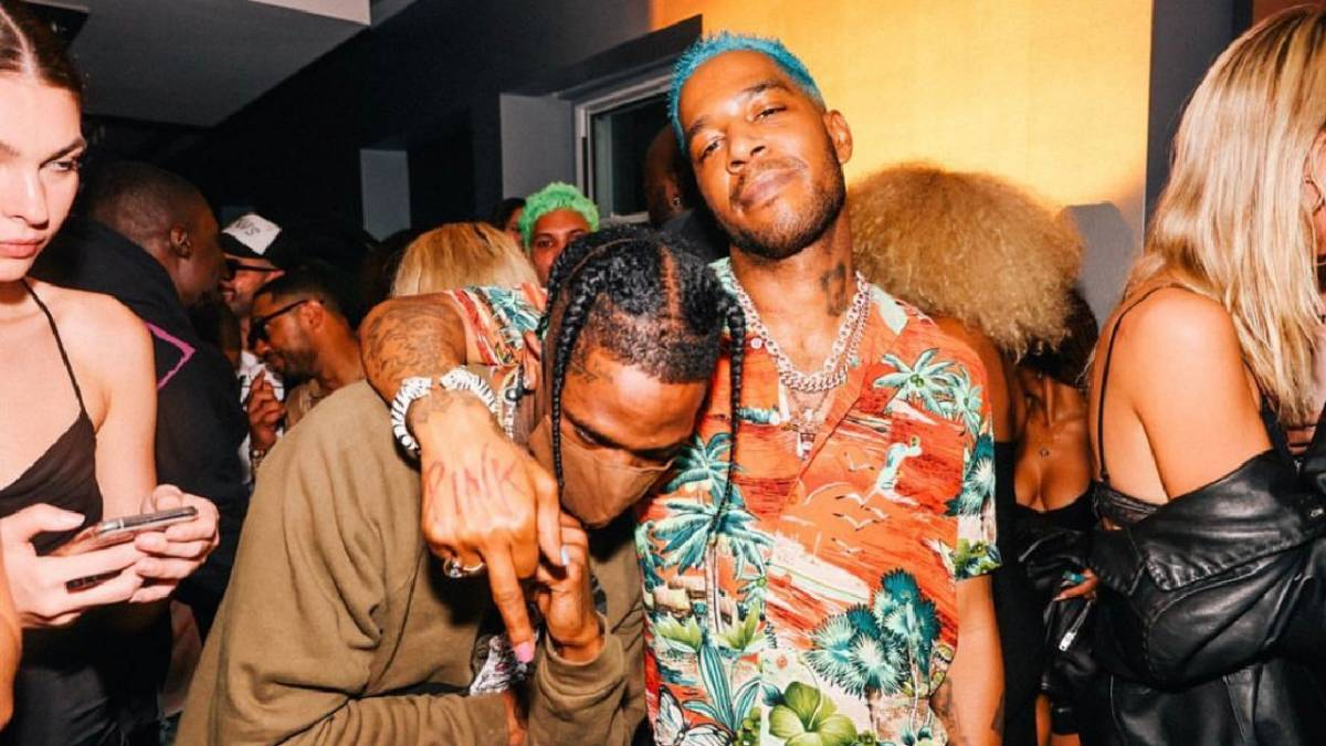 Kid Cudi Rages With Travis Scott, A$AP Rocky + More At 'Entergalactic' NYFW Party